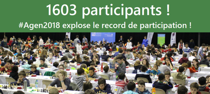 1603 participants : record de participation battu !